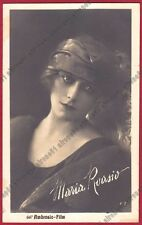MARIA ROASIO 04 ATTRICE ACTRESS CINEMA MUTO SILENT MOVIE Cartolina FOTOGRAFICA