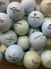 200 BOLAS DE GOLF ( top flite  pinnacle  inesis  wilson etc.)  ## GRADO A y B ##