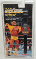 WE WF WRESTLING HULK HOGAN LCD GAME WATCH COLLECTORS ITEM BY TIGER 1990