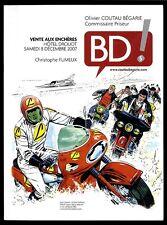 BD ! N° 5  CATALOGUE VENTE BD AUX ENCHERES  COUTAU BEGARIE   8  Décembre 2007