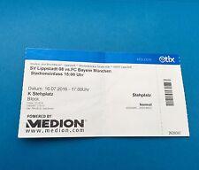Sammler Ticket Test SV Lippstadt - FC Bayern München 16.07.16