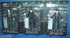 "GOTHAM TV Series DIAMOND SELECT 7"" FIGURE LOT Jim Gordon Penguin Selina Kyle new"