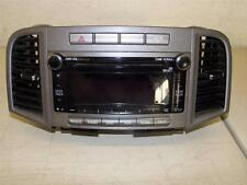 R12189 TOYOTA VENZA 2010-2011 OEM RADIO CD AUX SATELLITE # A518AD WITH VIN#