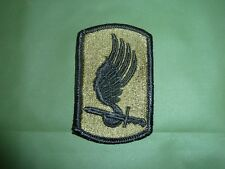 ORIGINAL 173RD AIRBORNE PATCH SUBDUED NOT REPRO 1972 SEE PICS