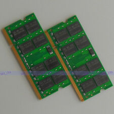 4GB 2X2GB DDR2 800 800Mhz PC2 6400 So-dimm Speicher Non-ECC Laptop Ram Notebook