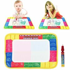 Water Drawing Painting Magic Pen Doodle Aquadoodle Mat Board Kids Boy Girl Toy