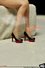 MCTOYS P-052 Women`s High Heel Shoes 1/6 Figure Four Colors Model C
