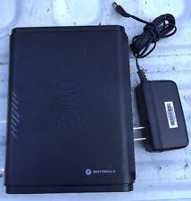 AT&T Motorola Router/Modem DSL NVG510 581862-001-00 #0106