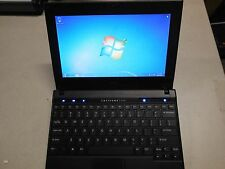 "Dell Latitude 2120 10"" Mini Laptop 2GB memory 250G HD Windows 7 Professional use"