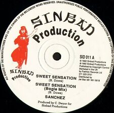 "SANCHEZ sweet sensation SID 011 uk sinbad productions 1992 12"" CS EX/EX"