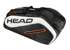 Brand New Head TOUR TEAM  9R SUPERCOMBI Tennis Racquet Bag Black/White 2017
