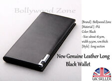 Brand New 2015 Influx Of Luxury Brand Multi Pockets Women Long Wallet In Black