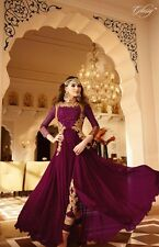 Asian/Indian/Pakistani Designer Anarkali Wedding Salwar Kameez Suit/unstitched