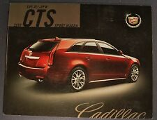 2010 Cadillac CTS Sport Wagon Sales Brochure Folder Nice Original Canadian