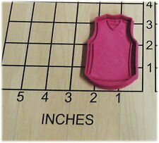 Basketball Jersey Shaped Cookie Cutter and Stamp #1183