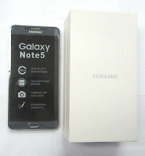 New Unlocked T-Mobile Samsung Galaxy Note 5 SM-N920T 32GB Black Family Simple