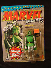 Dr. Doom action figure Toy Biz Marvel super heroes 1993 comic book toy NOS art