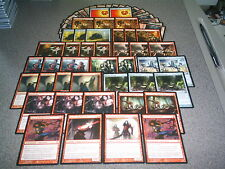 MTG Magic VAMPIRE DECK Innistrad M12 Rakish Heir MONO RED WINS Rare Lot Counters