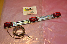 NEW NO NAME 9 DIODE RED LED IDENTIFICATION BAR LIGHT SURFACE MOUNT TRAILER TRUCK