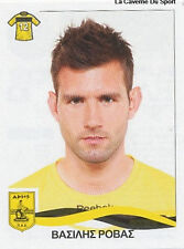 N°036 VASILIS ROVAS ARIS SALONIKI STICKER PANINI GREEK GREECE LEAGUE 2010