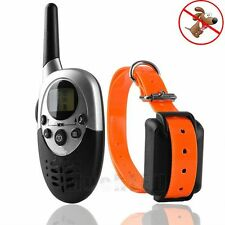 1000 Yard Electric Trainer Waterproof Remote Pet Safe Dog Shock Training Collar