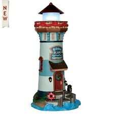 New Lemax Village Collectables -Hidden Island Lighthouse - miniature gardens