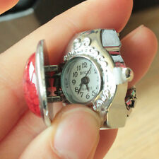 New Creative Design Watches Women Mini Fashion Finger Quartz Ring Watch Jewelry