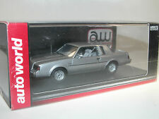 AW Auto World, Buick Regal T-Type, silber, 1/43