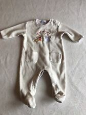 Unisex Baby Boys Clothes 3-6  Months- Disney Fleece   Babygrow Sleepsuit