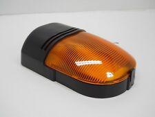 LED 12V Amber RV Camper Trailer Porch Security Scare Light / Black Base