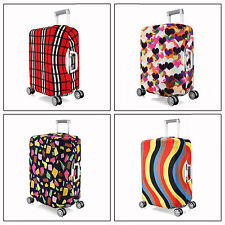 Elastic Travel Luggage Suitcase Spandex Dust-proof Cover Protector For 18''~ 20""