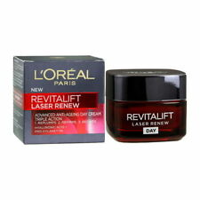L'OREAL REVITALIFT LASER RENEW Day Cream Advanced Anti-Ageing Triple Action 15ML