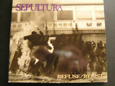 SEPULTURA  REFUSE/ RESIST... CD SINGLE