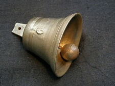 ANCIENNE CLOCHE BRONZE N°6 SONAILLE CLOCHETTE FERME PORTE D'ENTREE OLD BELL RING