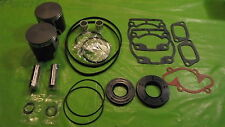 532 Rotax Aircraft Engine Piston Top End Rebuild Kit Std W bearings & Gaskets