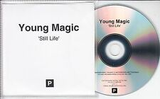 YOUNG MAGIC Still Life 2016 UK watermarked 10-trk promo test CD + press release