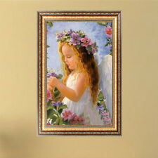 Cute Angel Girl Diamond Embroidery 5d Diamond DIY Painting Cross Stitch