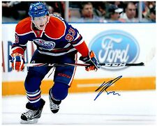 Edmonton Oilers RYAN NUGENT-HOPKINS Signed Autographed 8x10 Pic A