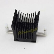 Black Aluminum Northbridge Heatsink CPU DDR Heatpipe Memory Cooling