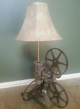 Antique Movie Projector Table Lamp