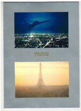 CARTE POSTALE./CONCORDE-SUPERSONIC-PARIS.CHIC-TOUR EIFFEL