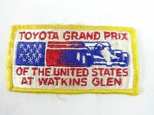 Toyota Grand Prix Of The United States Watkins Glen Event Collector Emblem Patch