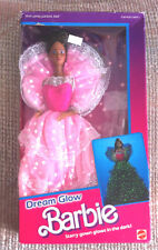 VINTAGE DREAM GLOW BLACK BARBIE No. 2427 1985 NIB