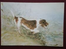POSTCARD MEDICI SOC - JOHN CONSTABLE - A DOG WATCHING A RAT IN THE WATER -