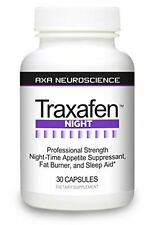 Traxafen Night - PM Diet Aid Burns Fat While You Sleep! Reduces Cravings!