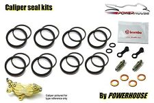 Aprilia RS250 2003 03 Brembo front brake caliper seal repair rebuild kit