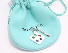 Rare! Tiffany & Co. Sterling Silver Paloma Picasso Painter's Palette Charm