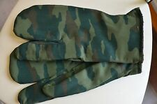 Soviet and Russian military winter gloves, mittens
