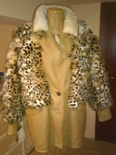 "Giubbotto/Giaccone/Montone""SHEARLING+LINCE SICAR""Vera Pelle/Made In Italy/Tg.44"