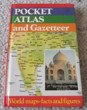 POCKET ATLAS and GAZETTEER, 192 pages, ALL AGES, PICTURES, MAPS, FACTS, FIGURES